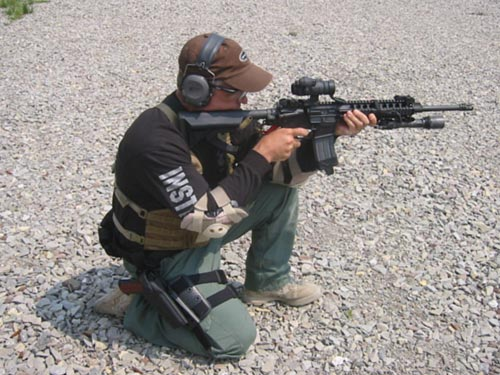 Experience - Police Defensive Firearms Training